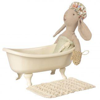 maileg badkuip met konijn