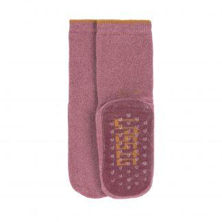 LÄSSIG anti-slip sokken rosewood