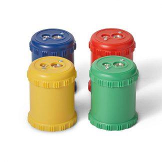 puntenslijper tonnetje 4 kleuren
