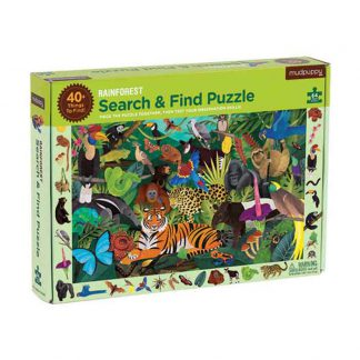 mudpuppy puzzel rainforest