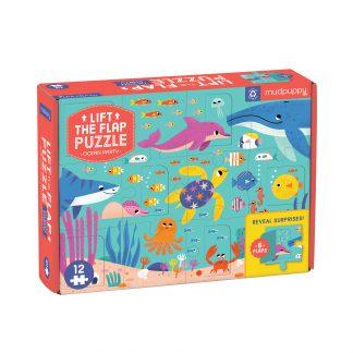 lift and flap puzzel mudpuppy
