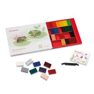 stockmar wasblokjes 32 kleuren
