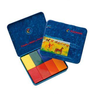 stockmar wasblokjes 8 kleuren