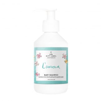 the gift label baby shampoo lamour
