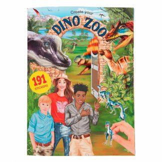stickerboek create your dino zoo