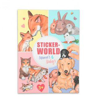 stickerboek mama's en baby's depesche