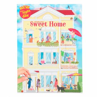 stickerboek create your sweet home
