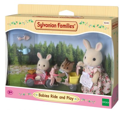 sylvanian families ride and play