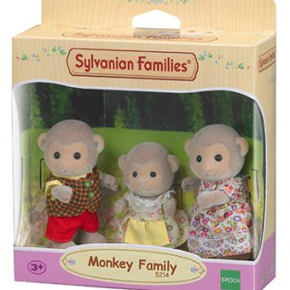 sylvanian famielies monkey family aap familie