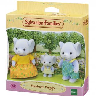 Sylvanian Families olifant family