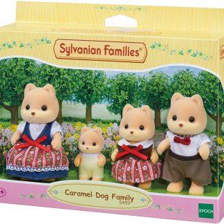 sylvanian families caramel dog familie