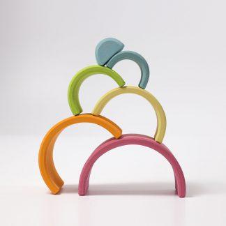 regenboog grimm's pastel kleuren 6 delig
