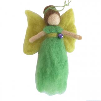 regenboog engeltje groen geel