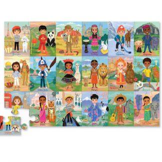 crocodile creek puzzel kinderen van de wereld