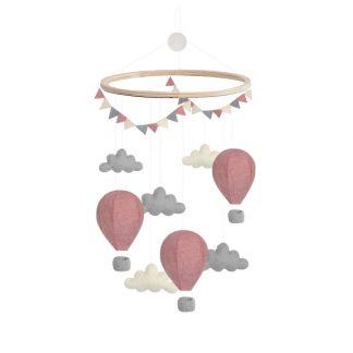 gamcha luchtballonnen mobile roze