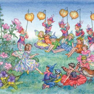 ansichtkaart the runaway fairy molly brett