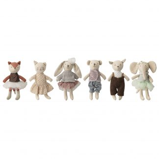 bloomingville mini soft toys animal friends