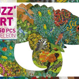 djeco puzz'art chameleon 150 stukjes