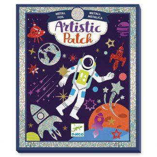 djeco artistic patch astronaut