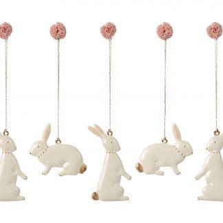 maileg easter bunny ornaments paashaas hangers