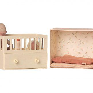 maileg babykamer met micro bunny