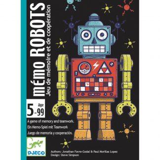 djeco memo robots